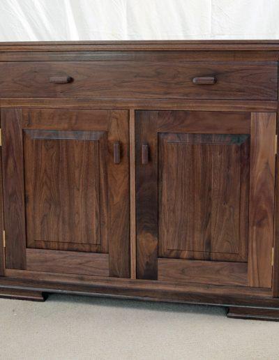 Cabinet in black walnut